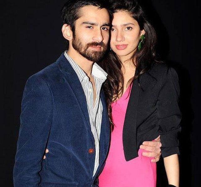 Mahira Khan with Single Ali Askari