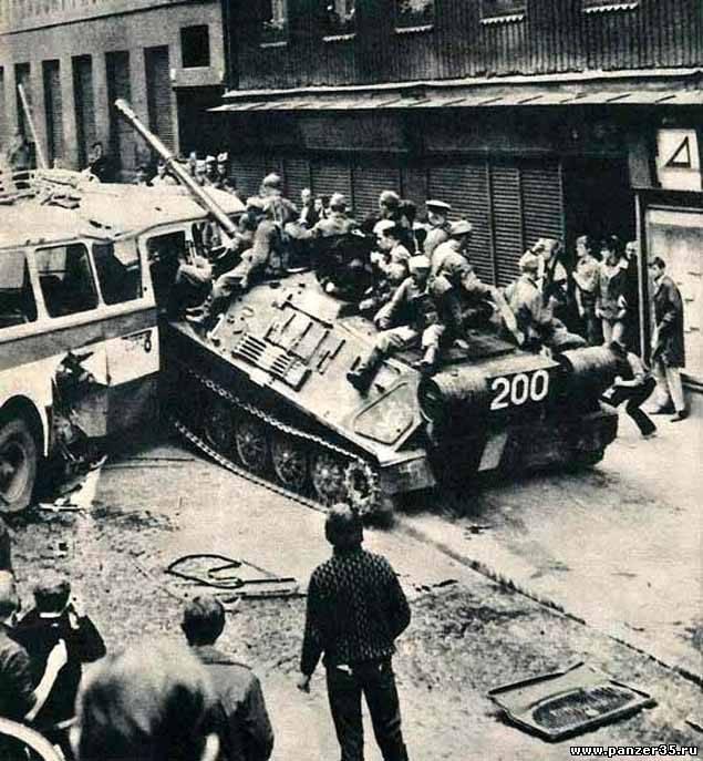 21 августа 1968 года – конец «Пражской весны»: lat_elenka