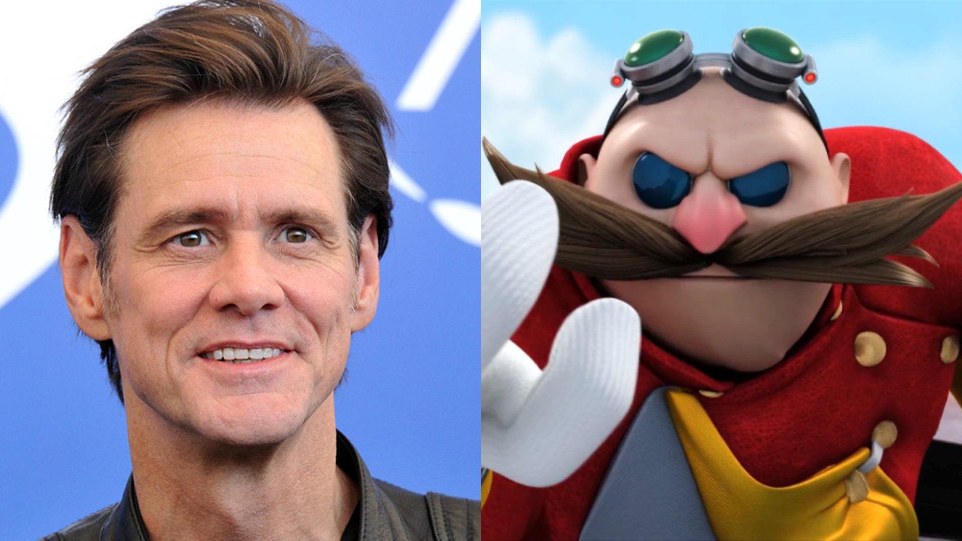 Jim Carrey is ready to get Dr. Eggman's mustache in the ...