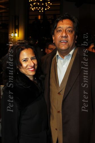 Prem Radhakishun with Wife Diana Düttenhofer