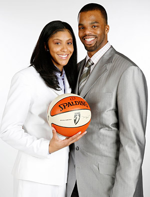 Candace Parker with Husband Shelden Williams