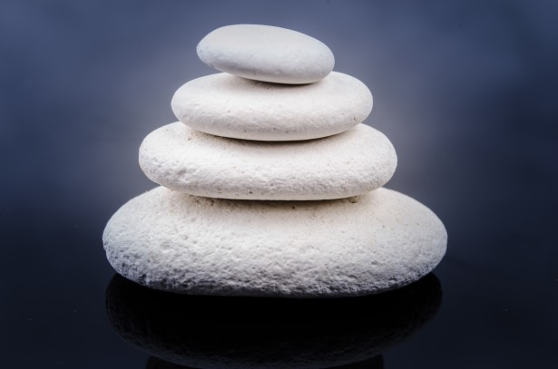 Zen Stones by George Hodan