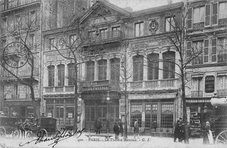 histoire des théâtres parisiens: Première moitié du 20ème ...