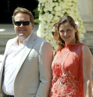Anniko van Santen with Husband