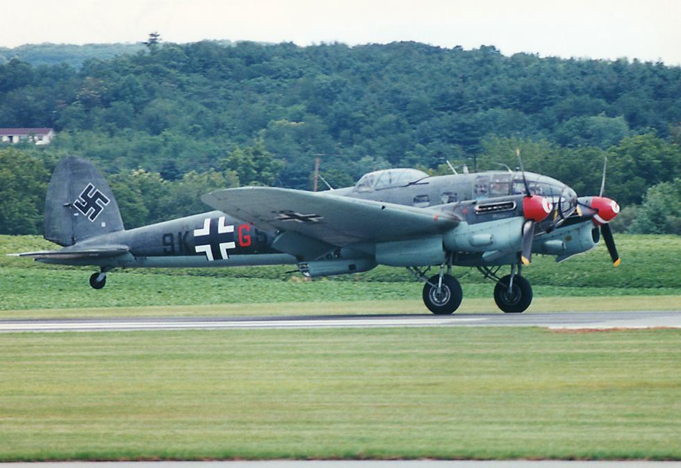 Heinkel He 111 Bomber at the Frederick Airshow