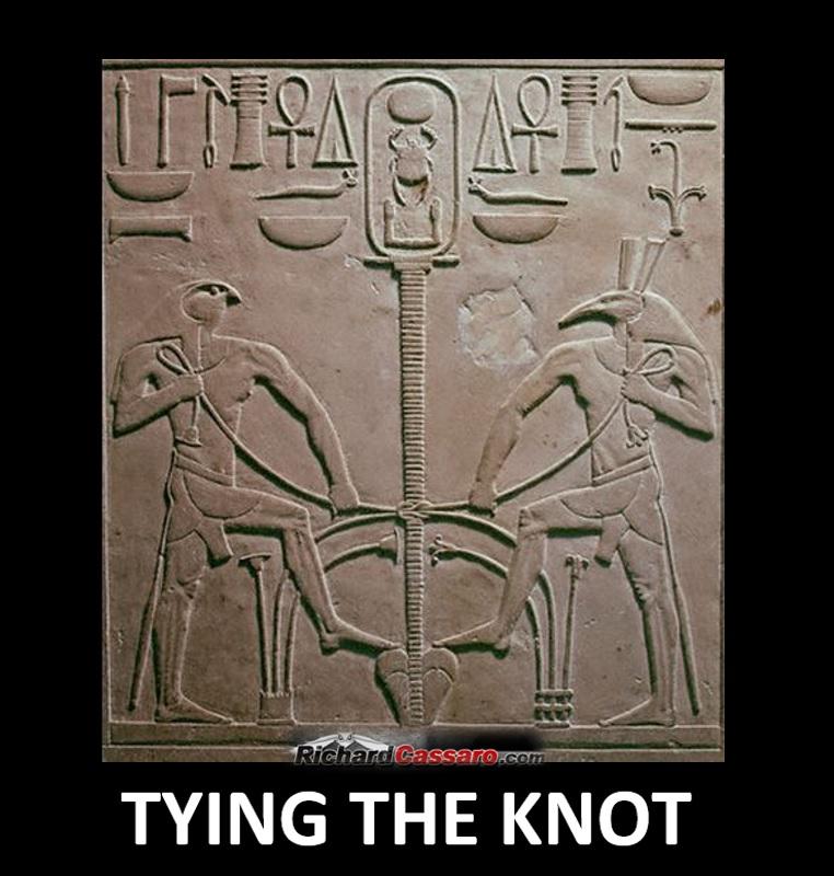 Sema Tau - Tying the Knot - Richard Cassaro