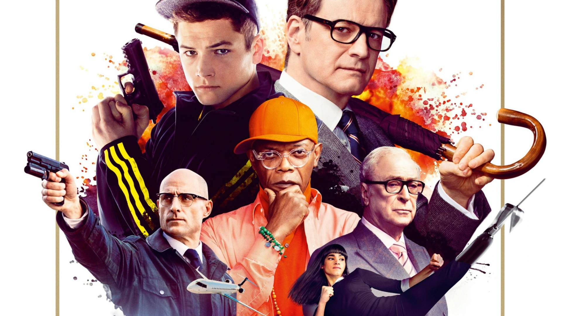 "KINGSMAN: THE SECRET SERVICE: 3 STARS. ""as extreme as it is ..."