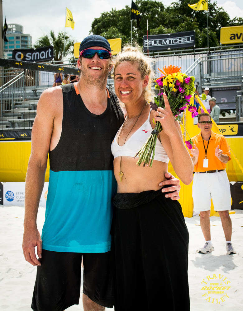 April Ross with Husband Brad Keenan