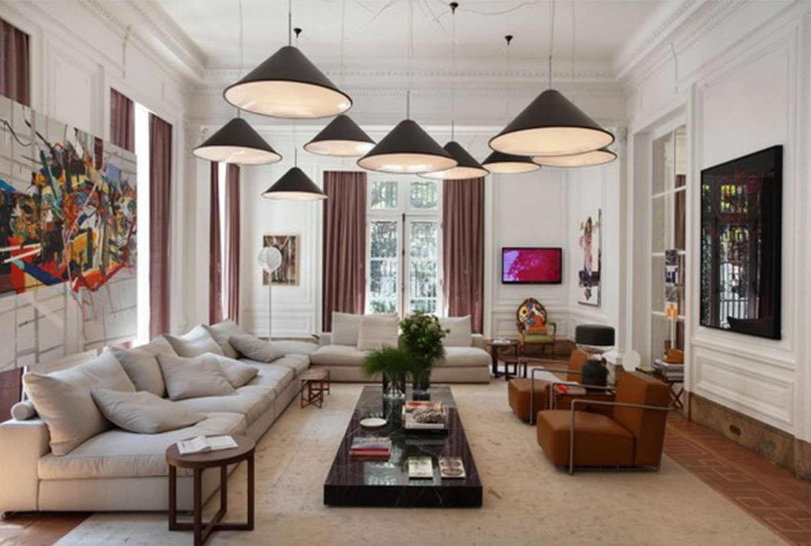Living Room Wall Decor With Lights Can Brighten Up Your Home