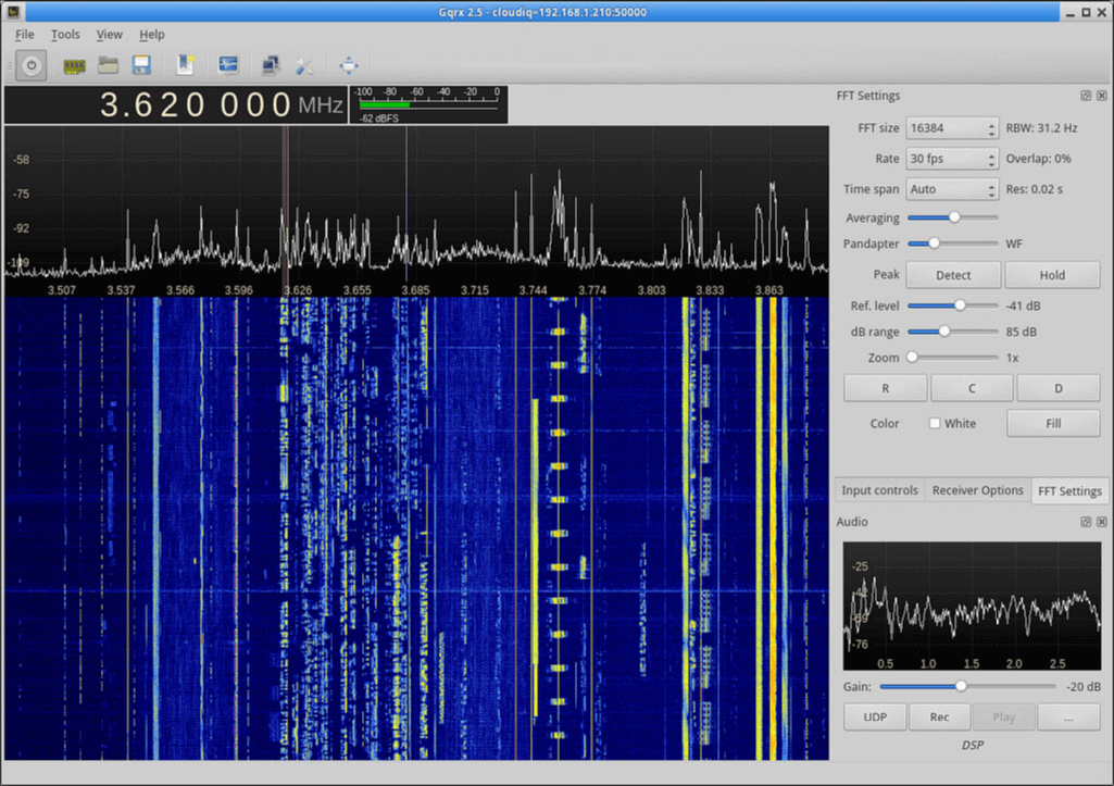 Version 2.6 of GQRX Released