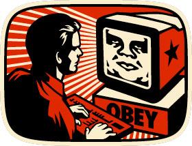 OBEY THE GIANT - Propaganda engineering. - schrankmonster blog