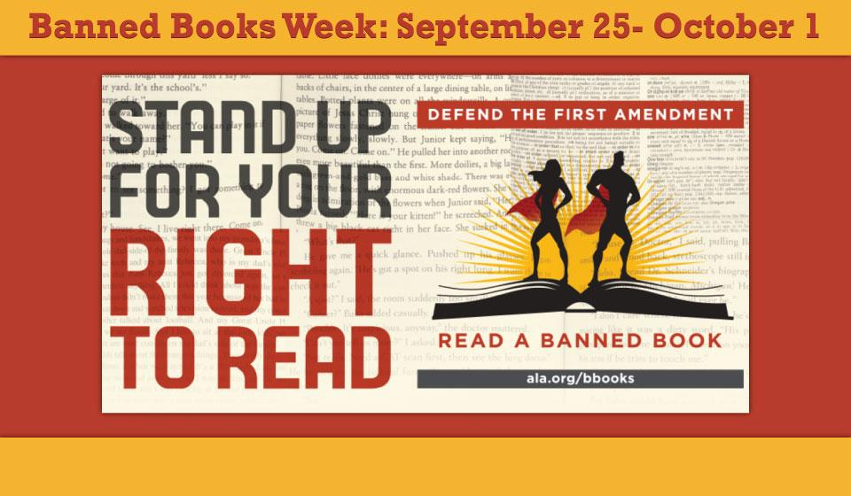 Banned Books Week 2016 | St. Charles Public Library