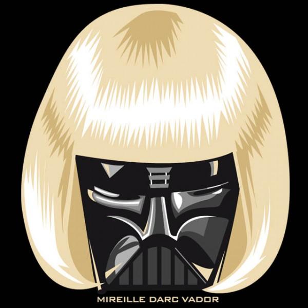 Mireille Darth Vader