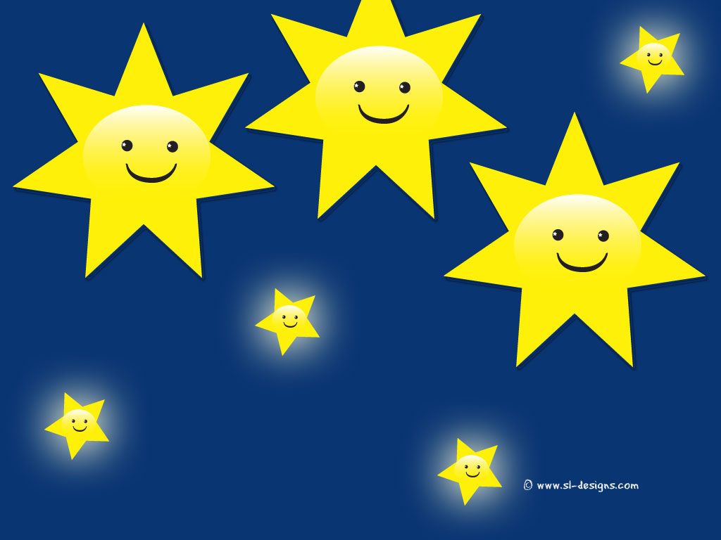 Click to zoom Go back to Smiley Stars wallpapers page