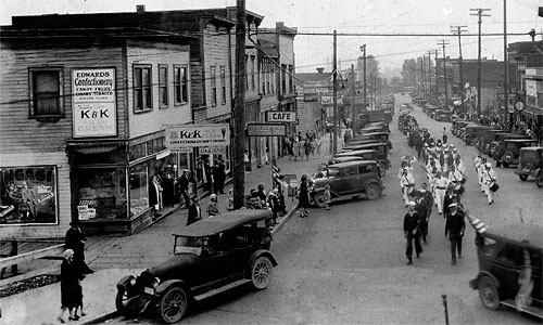 Historical Snohomish - 901 First Street Building | Snohomish: Then and Now by Warner Blake
