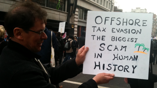 Austerity for the masses while the elites hide $21 to $32 trillion in tax havens - conservative ...