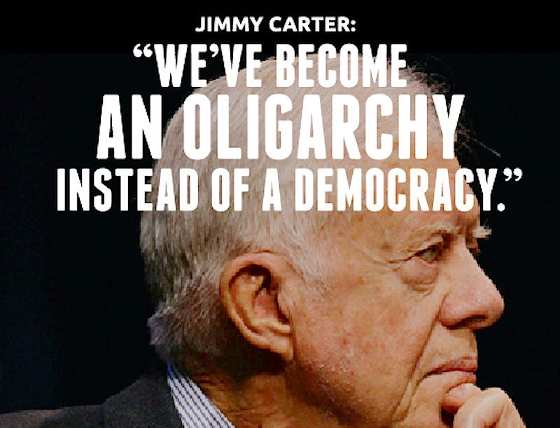 It's about oligarchy, not democracy as most Americans have 'near-zero' policy input -- Puppet ...