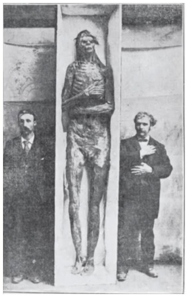 giant mystery: 18 strange giant skeletons found in Wisconsin: Sons ...