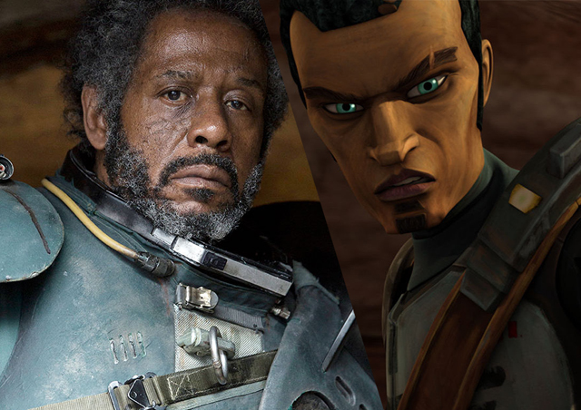Saw Gerrera fought in the Onderon campaign of the Clone Wars.