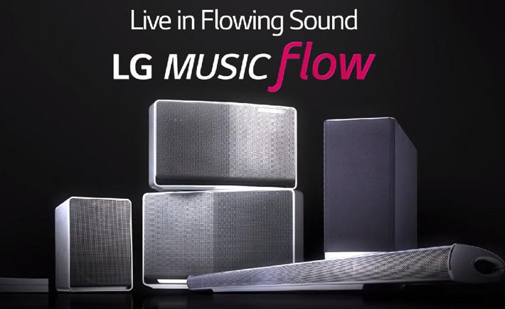 LG Music Flow, un écosystème musical pour la maison