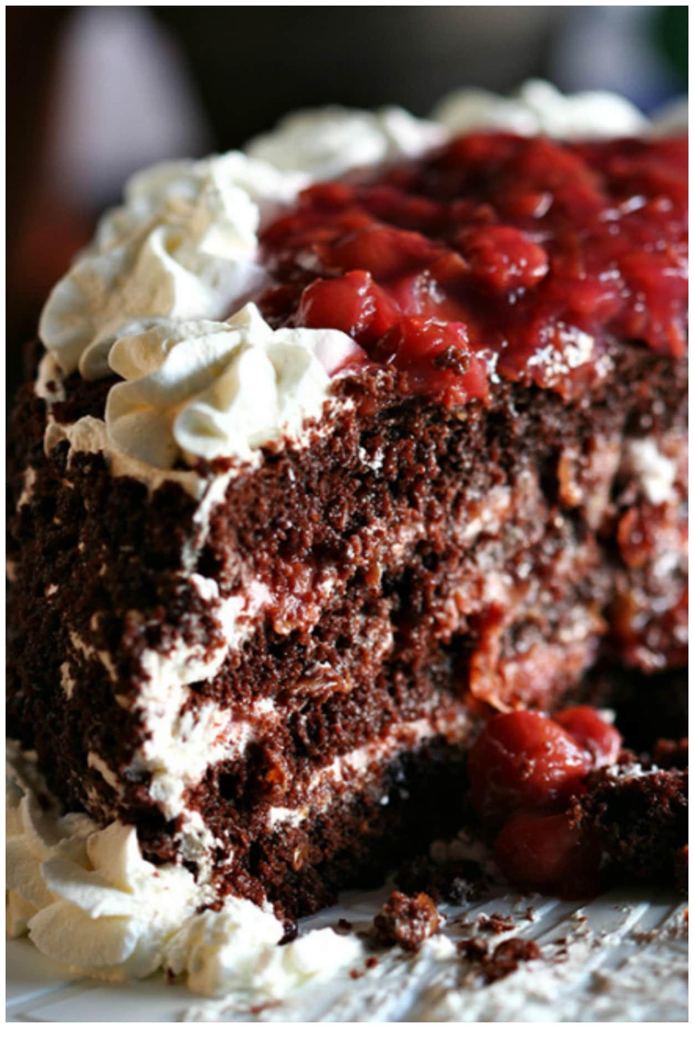 Black Forest Cake - Swanky Recipes
