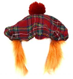 Tartan hat and wig