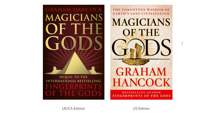 some of the best selling books including the Fingerprints of the Gods ...