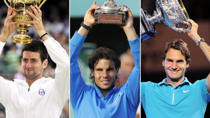 Novak Djokovic , Roger Federer and Rafael Nadal are known for their ...