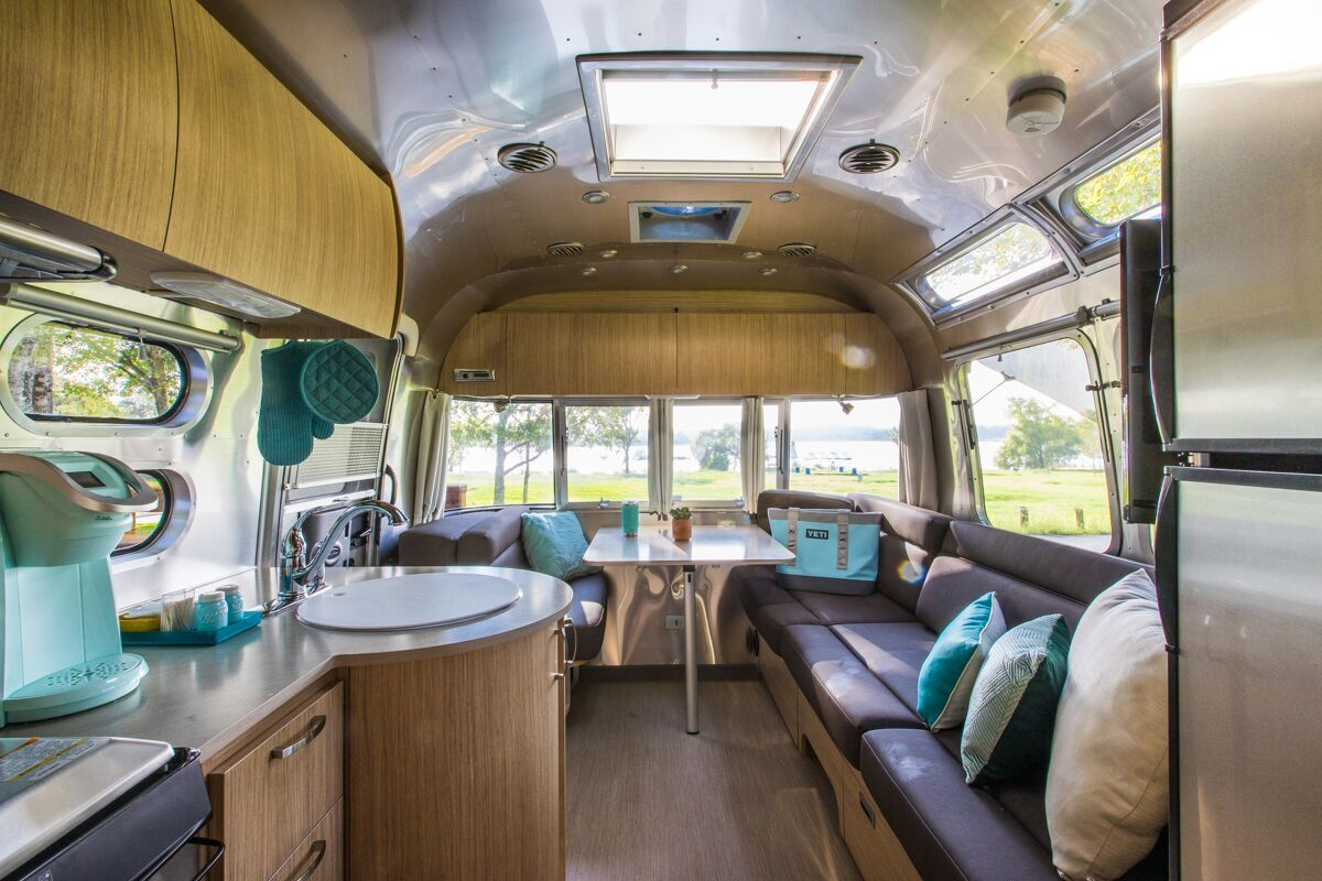 Get Your 'Glamping' Fix In An Airstream Trailer | Texas ...
