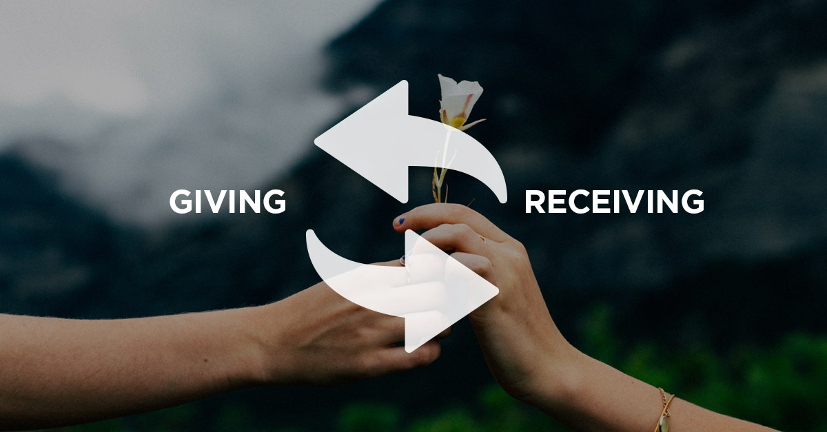 Give and Receive | The Body and Mind Coach | Life Coach Sydney
