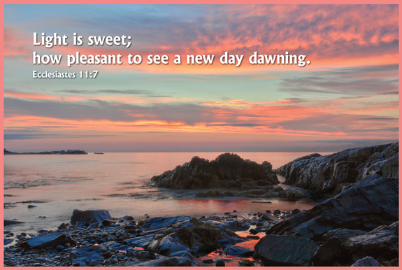 Watching the New Day Dawning – The Christian Gift