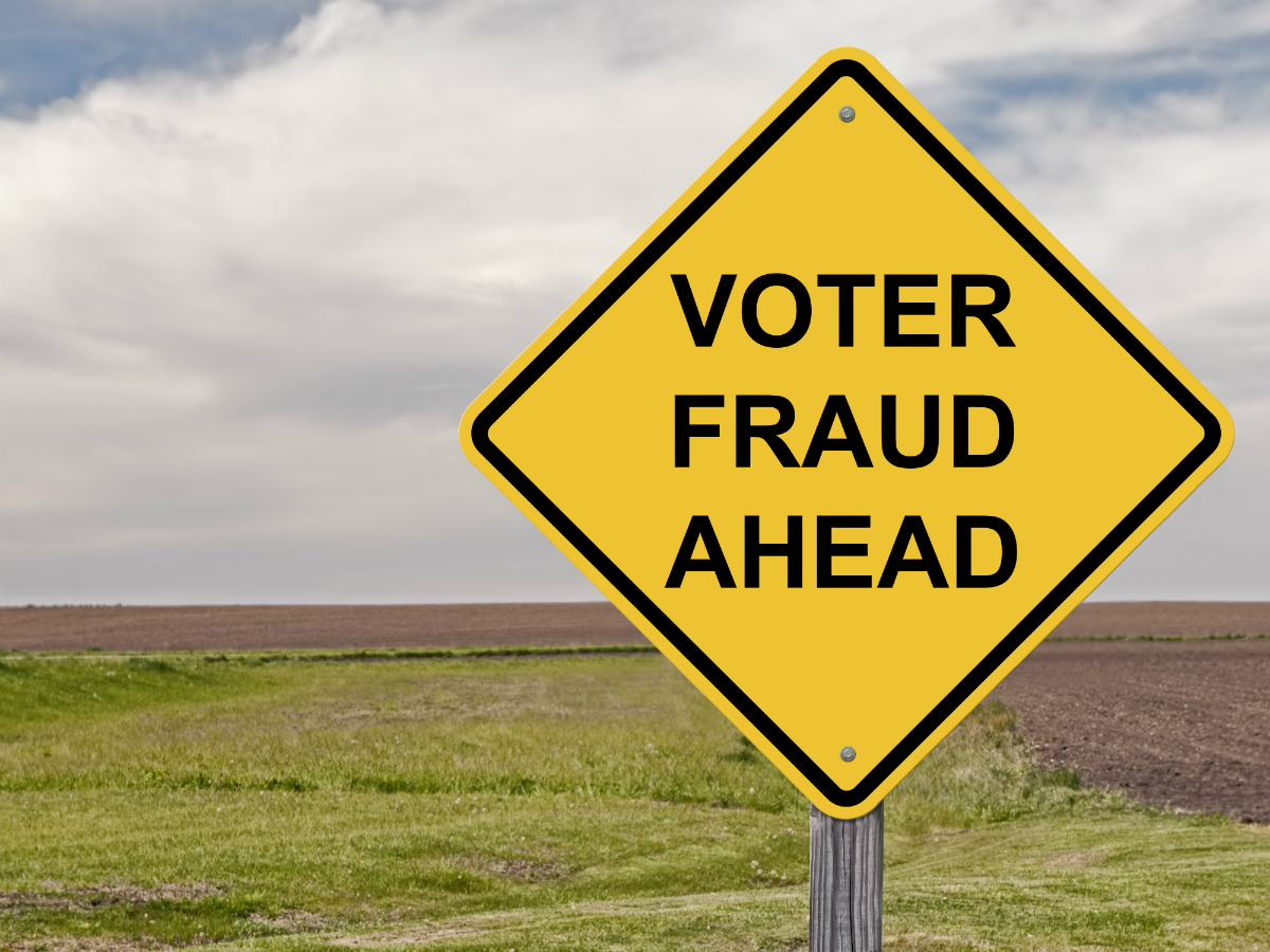 voter-fraud-ahead-caution | The Daily Sheeple