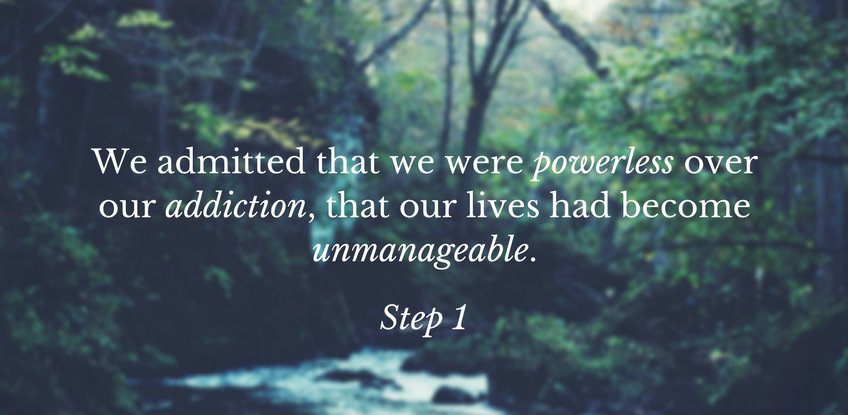 Admitting Powerlessness: Finding Strength in Surrender
