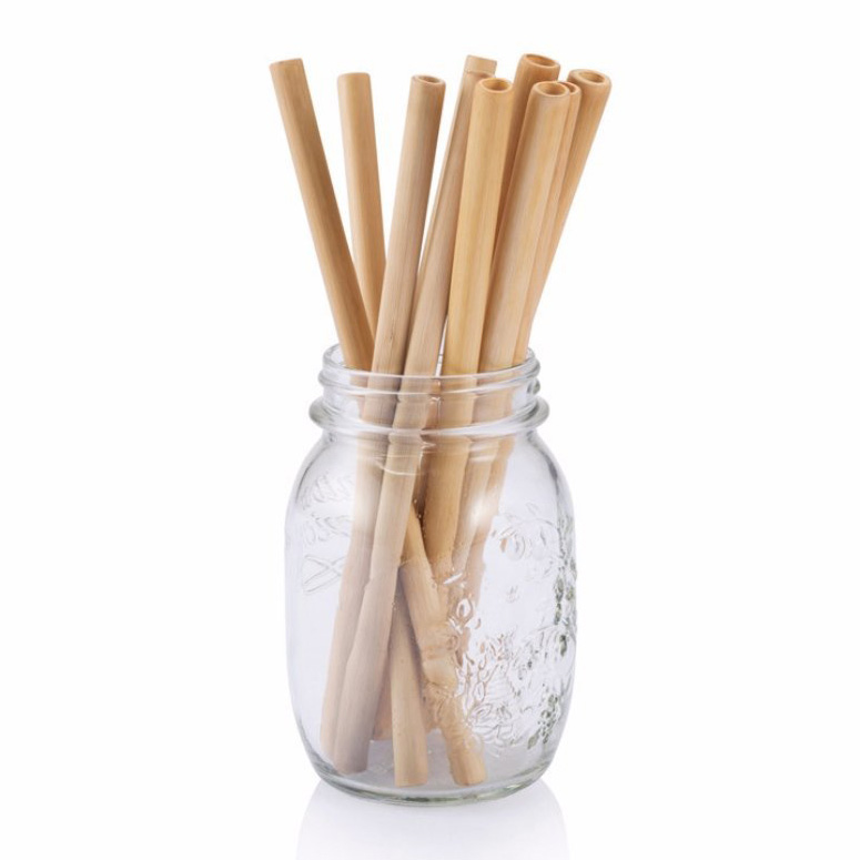 Reusable Bamboo Drinking Straws - The Green Head