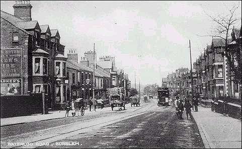 Burslem - Waterloo Road (c.1910)