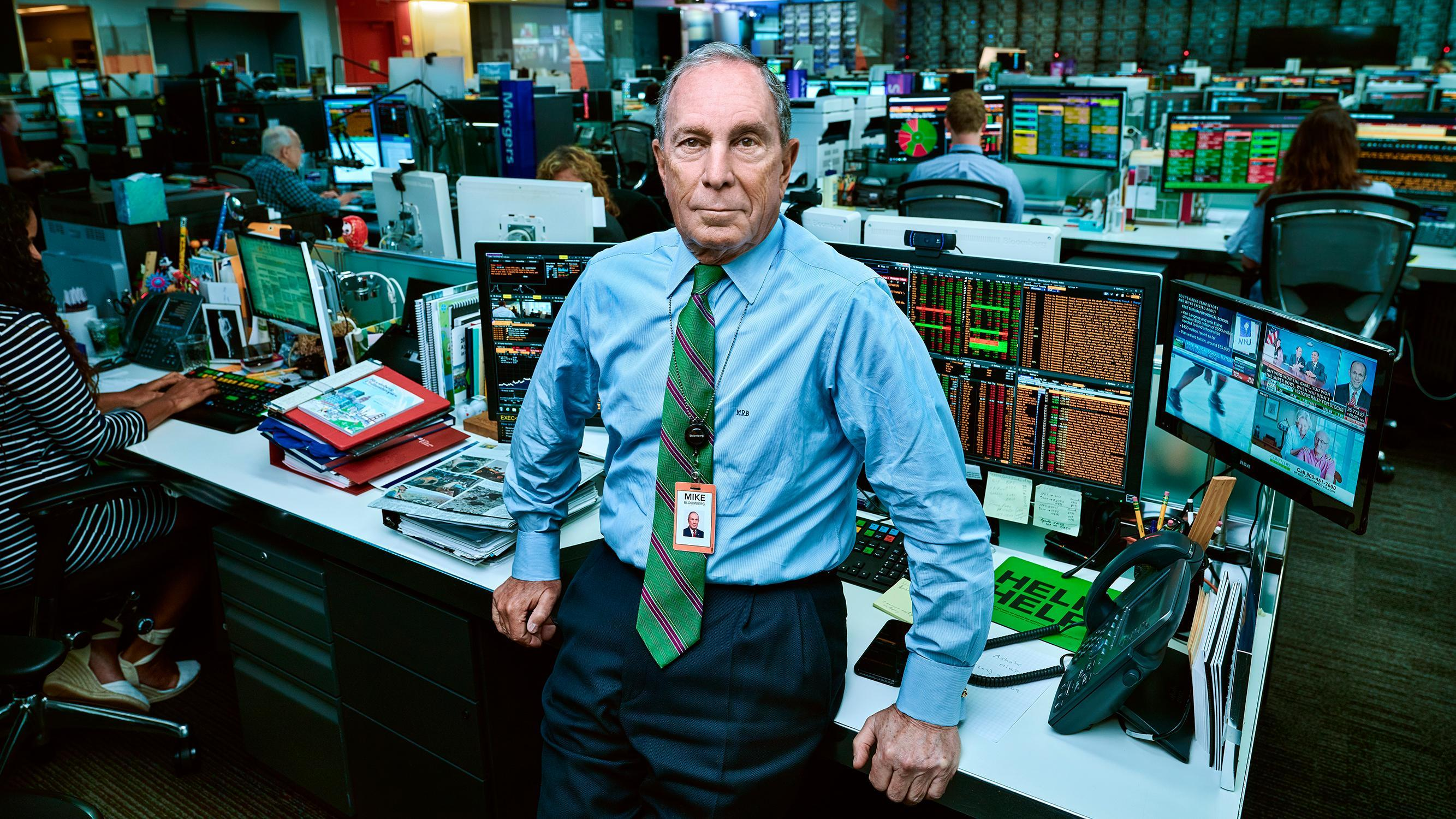 Michael Bloomberg accused of harassment/discrimination by at least 17 women…