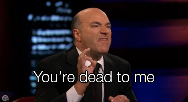 Mr. Wonderful says you're dead to him when he hears your valuation