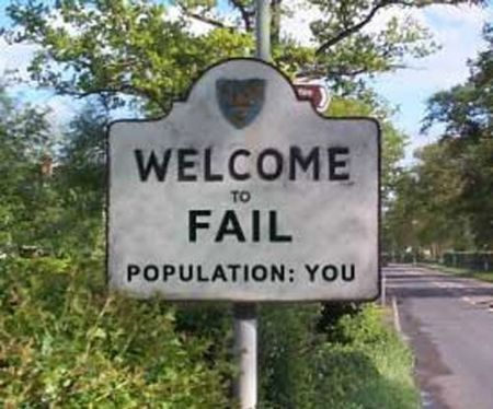 FAIL - FAIL population YOU - Threadbombing