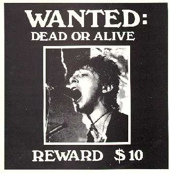 Wanted Dead Or Alive - Reward $10