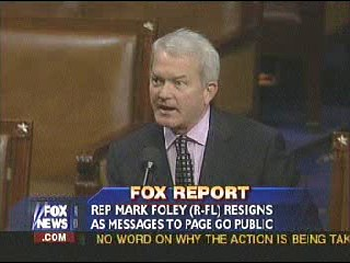 Tickle The WireEx-Rep. Foley Turns The Page On Page ...
