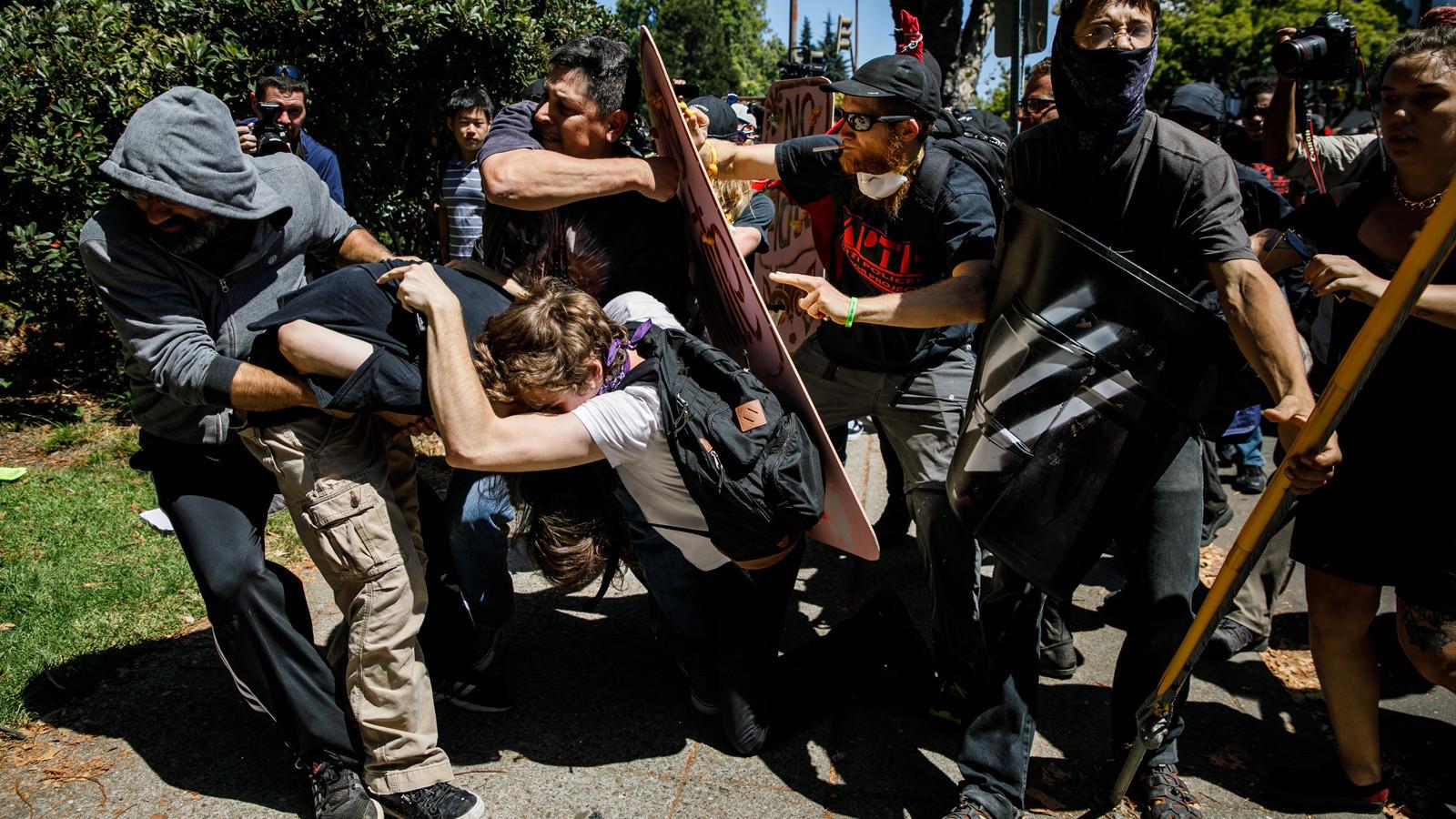 After 'antifa' violence, Berkeley debates whether Milo ...