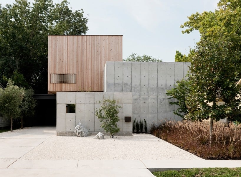 Concrete Box House Influenced by Japanese Design | Modern ...