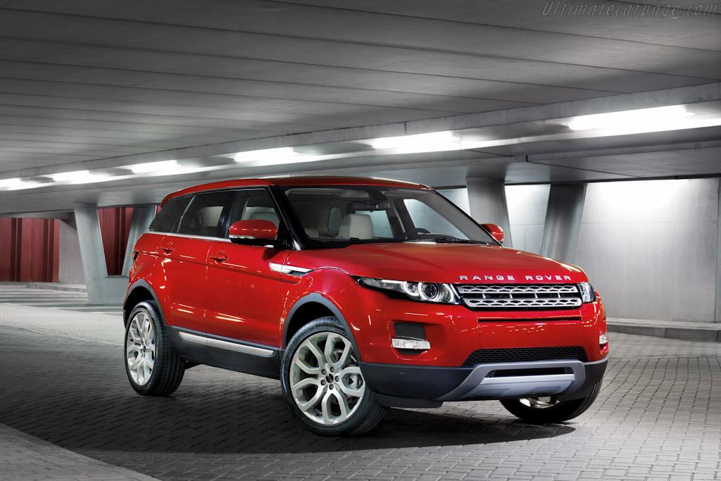 JLR will build Range Rover Evoque in China