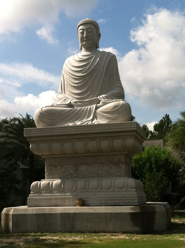 Visiting the White Sands Buddhist Center in Mims, Florida ...