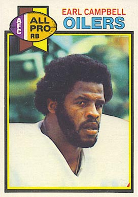 on card earl campbell card number 390 year 1979 set name 1979 topps ...