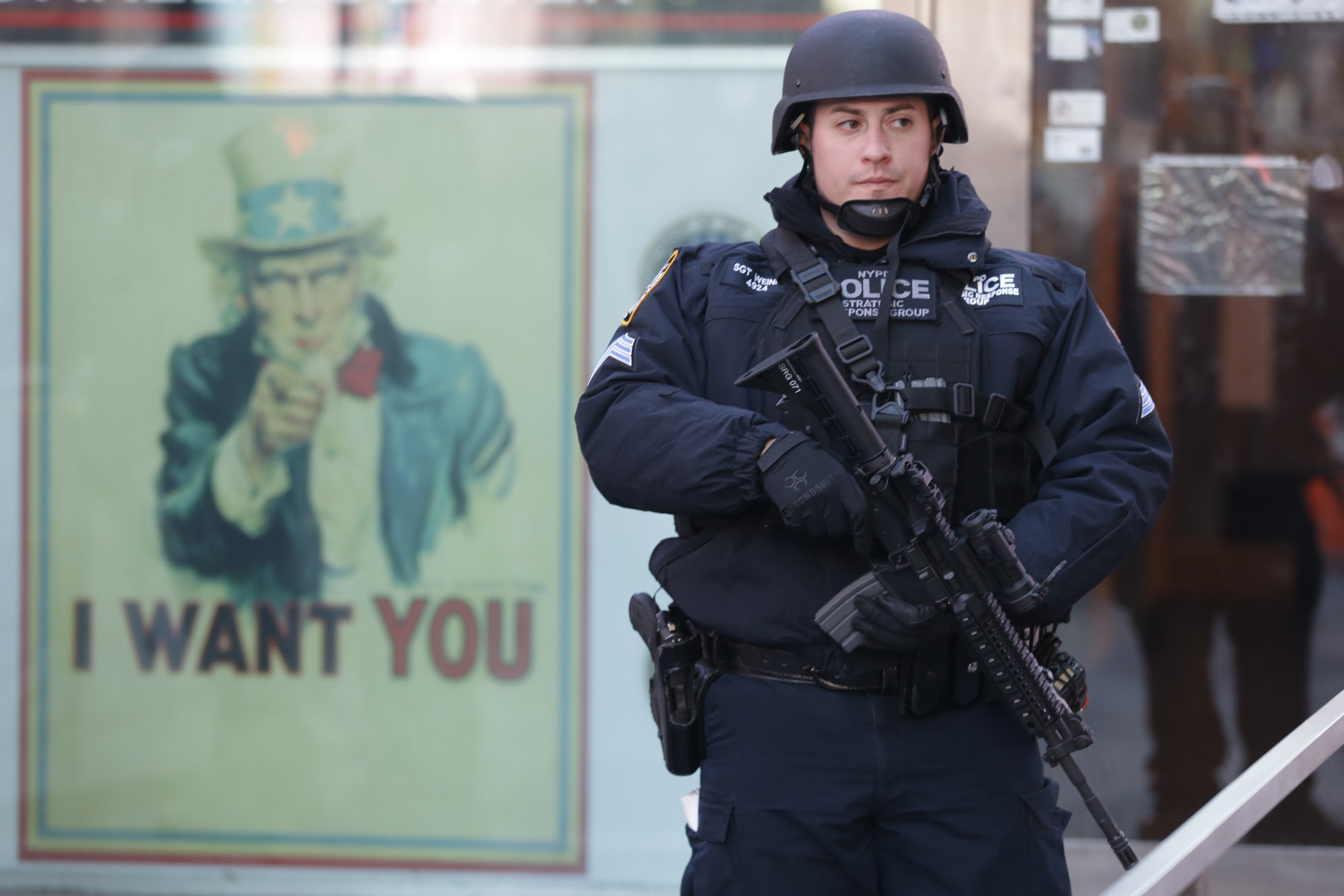 New York - Security Up In Some US Locales, Business As ...