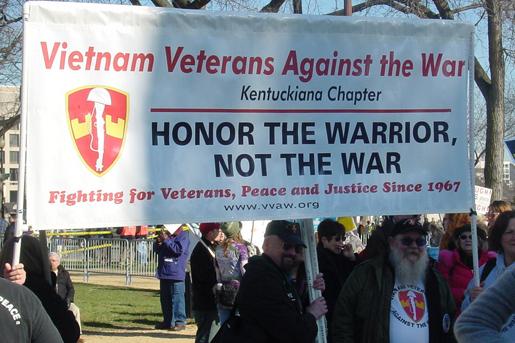 Vietnam Veterans Against the War: THE VETERAN: Passing the ...