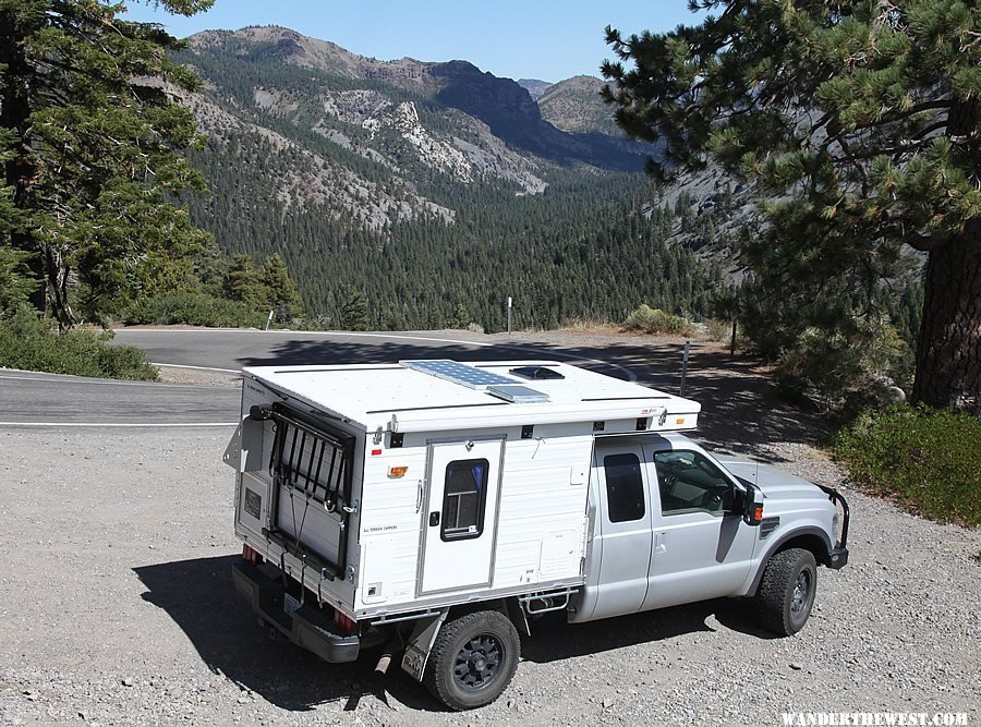 Pop-Up truck camper by All Terrain Campers