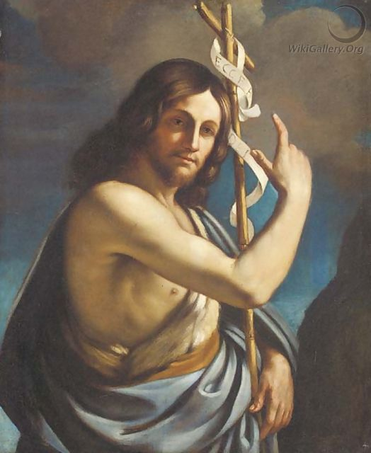 Saint John the Baptist - (after) Giovanni Francesco ...