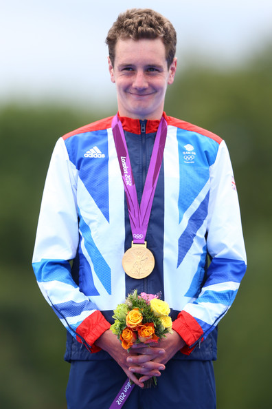 The 29-year old son of father (?) and mother(?), 184 cm tall Alistair Brownlee in 2018 photo
